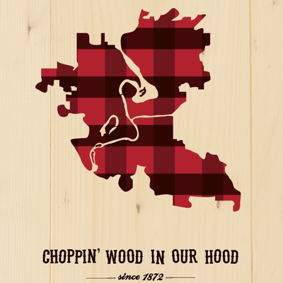 Volume One Choppin' Wood Mini Print