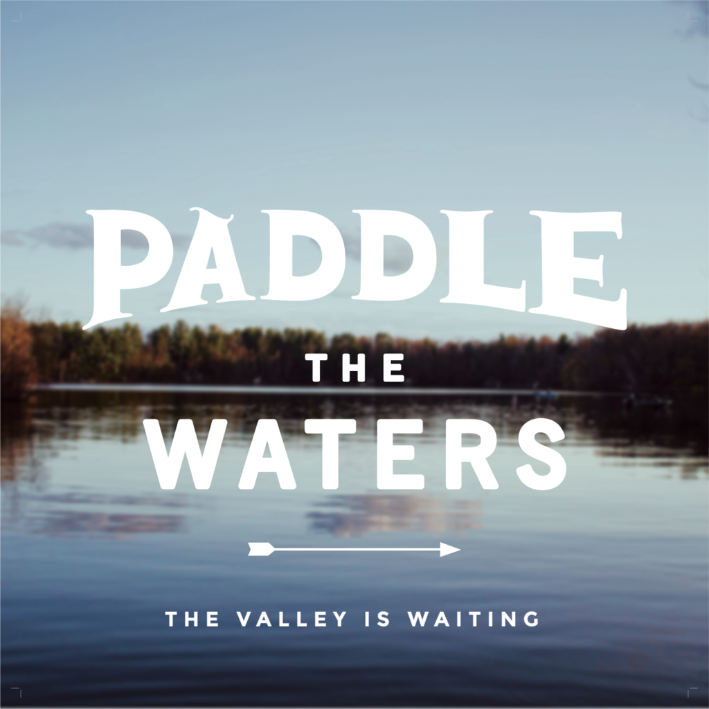 Volume One Paddle the Waters Print - 12x12