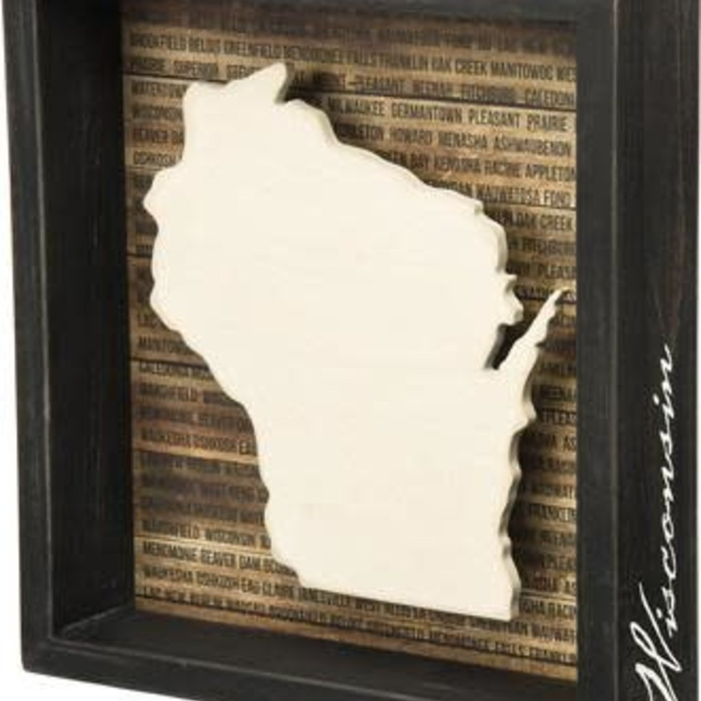 Volume One Wisconsin Shadow Box