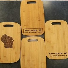 Eau Claire Cutting Board-Large (Assorted Styles)