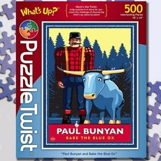 Puzzle Twist Paul and Babe Jigsaw Puzzle