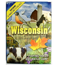 Volume One Playing Cards - Wisconsin Images