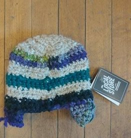 Cindy Knapmiller Knit Kids Hat - Multi Colored Stripes