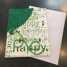Gazelle Sentiments Balloon Birthday Greeting Card