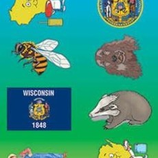 Volume One Wisconsin Sticker Pack