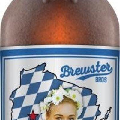 Chippewa River Distillery Brewster Bros. Beer - Oktoberfest Bottle (12 oz.)
