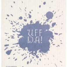 Volume One Swedish Dishcloth - Uff Da (Blue)