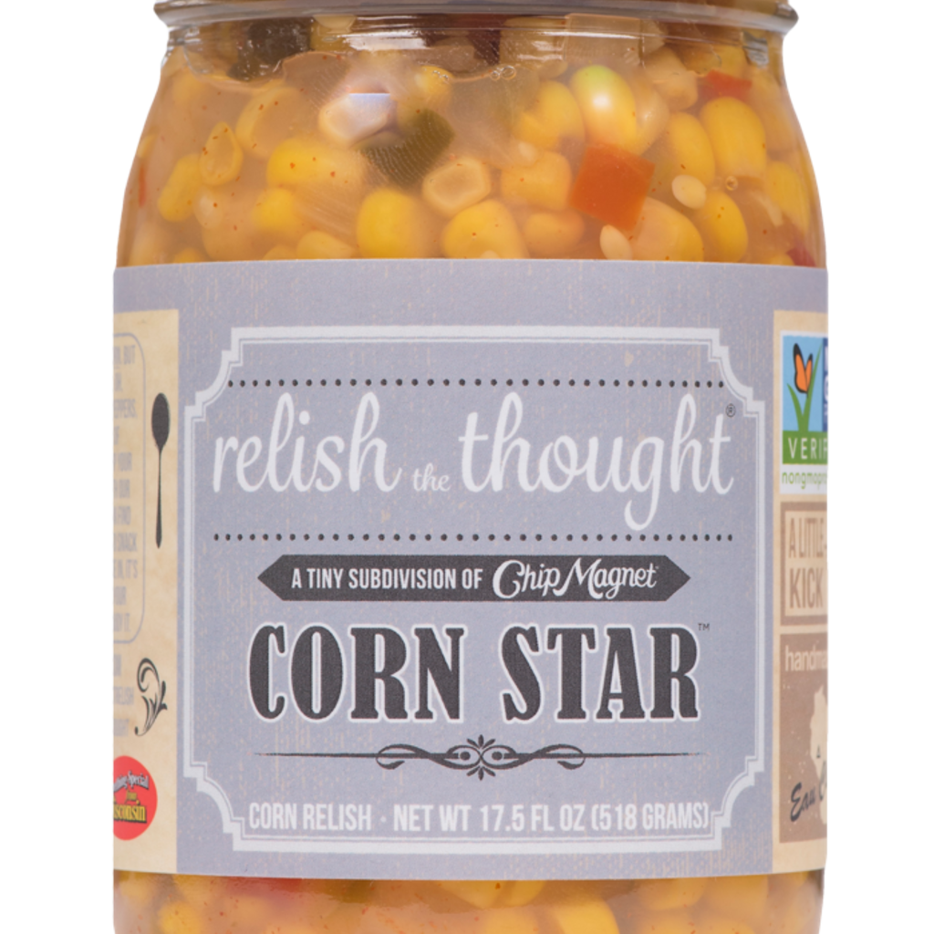Chip Magnet Relish the Thought - Corn Star Relish
