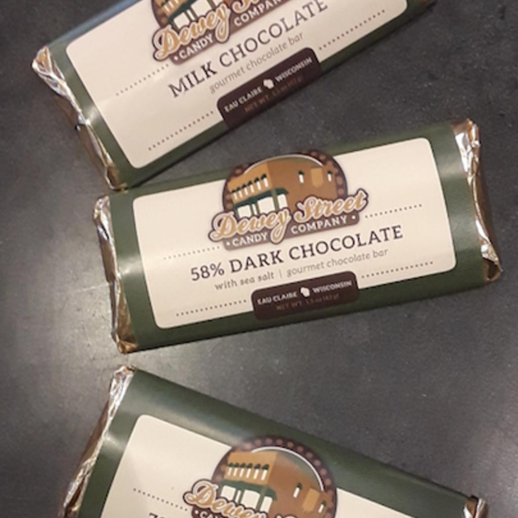 Dewey Street Candy Co. Candy Bar - Milk Chocolate