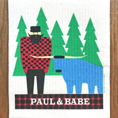 Volume One Swedish Dishcloth - Paul Bunyan