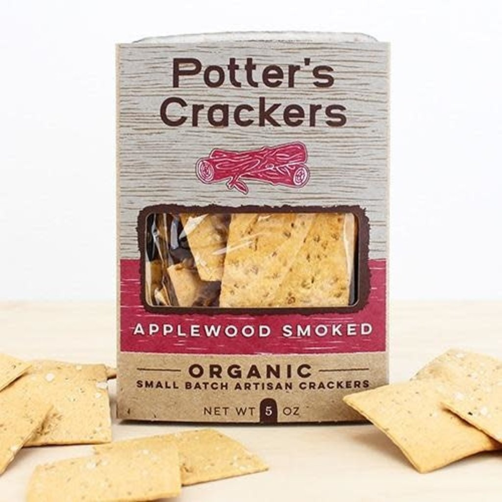 Potter's Crackers Potter's Crackers: Applewood Smoked (5 oz.)