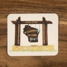 Anthology Sticker - Wisconsin Welcomes You Sticker