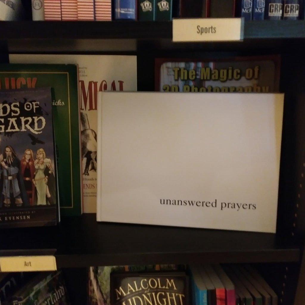 Susan Sveda-Uncapher Unanswered Prayers