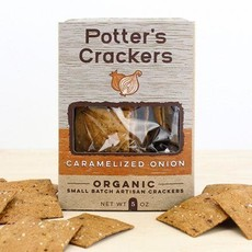 Potter's Crackers Potter's Crisps: Caramelized Onion