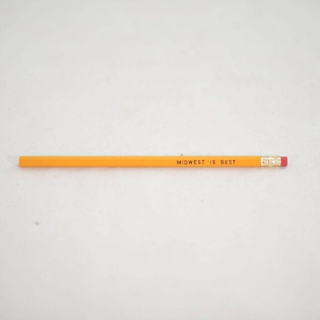 Volume One Pencil - Midwest is Best
