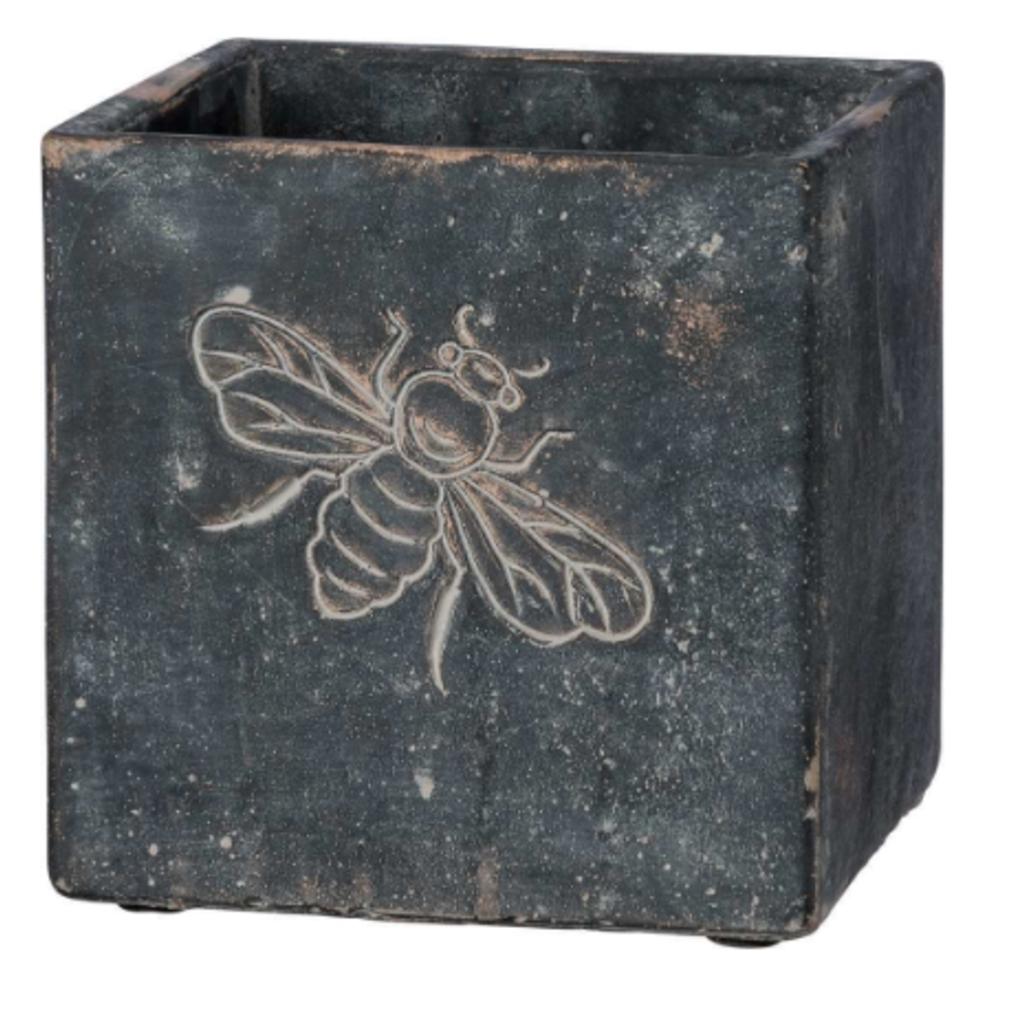 Volume One Cement Planter - Bee