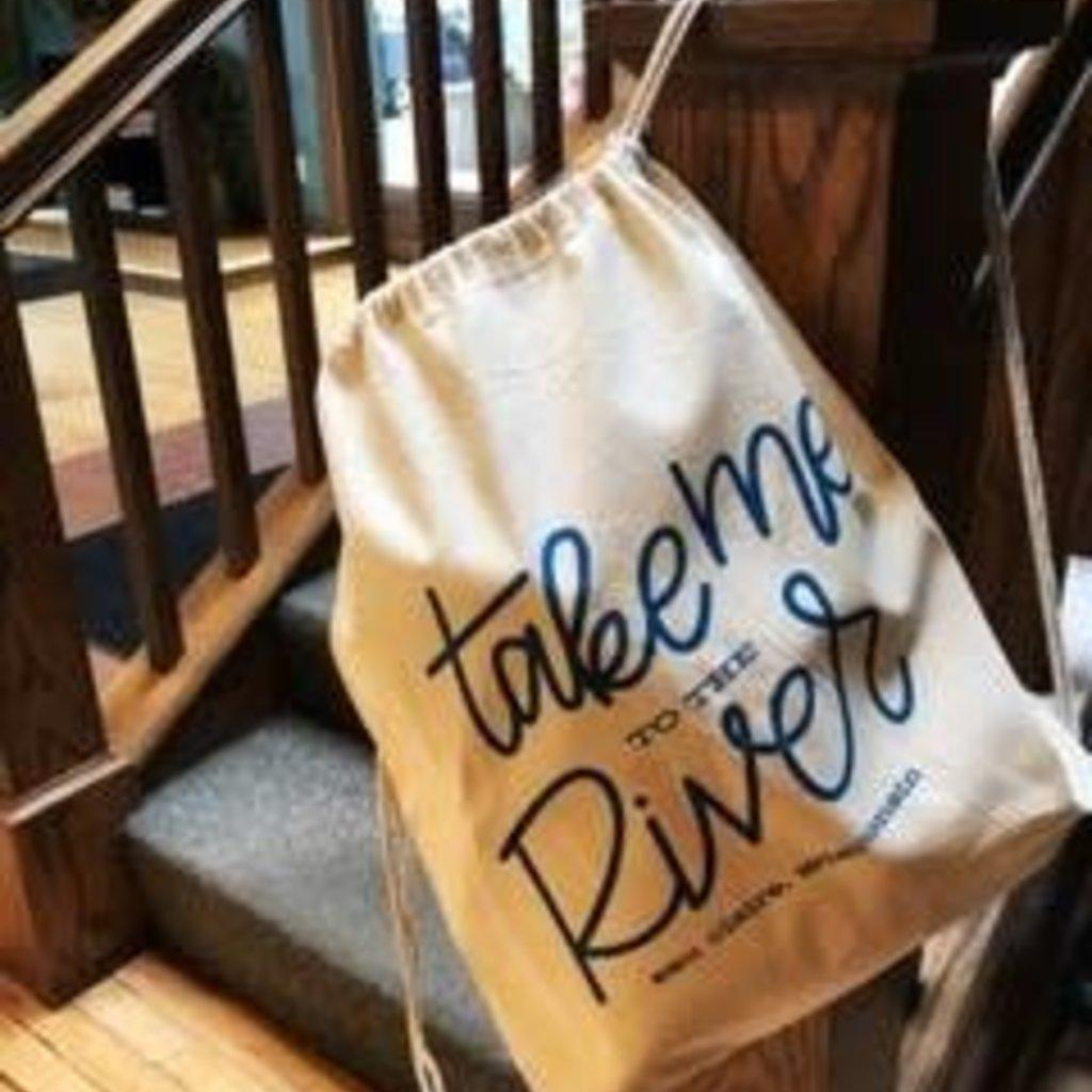 Volume One Drawstring Bag - Take Me to the River