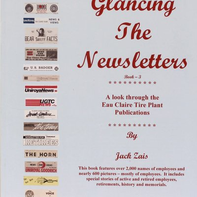 Jack Zais Glancing the Newsletters Vol. 3
