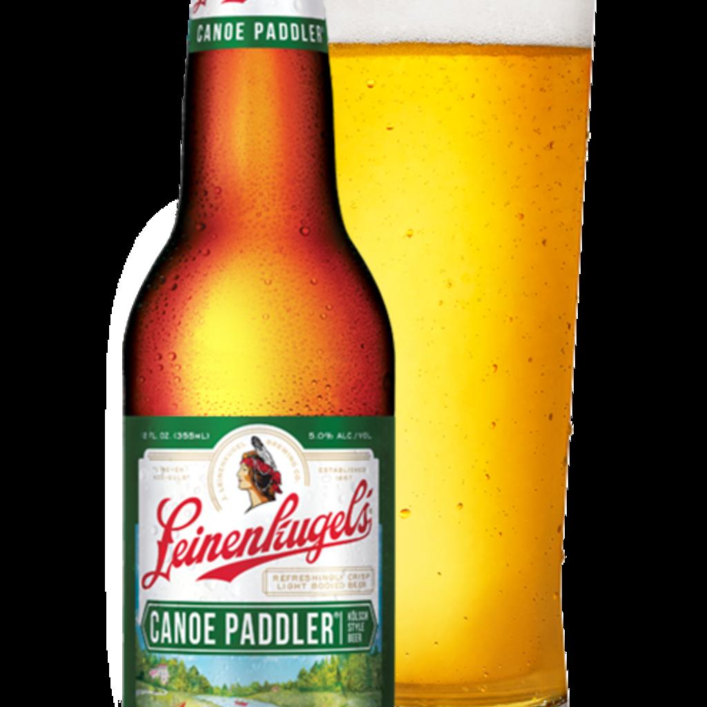 Leinenkugel's Leinenkugel Beer - Canoe Paddler Beer Bottle (12 oz.)