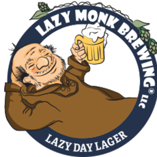 Lazy Monk Brewing Lazy Monk Beer - Lazy Day Lager Can (16 oz.)