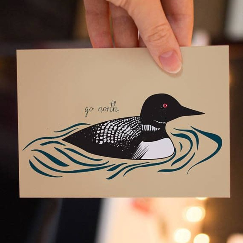 Lydia Tradewell Loon Greeting Card