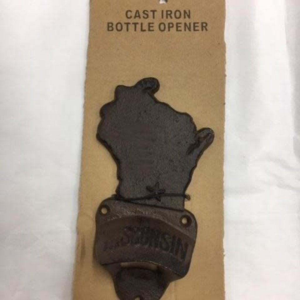 Volume One Wisconsin Cast Iron Bottle Opener