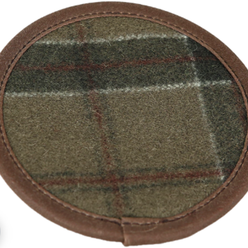 Stormy Kromer Wool Coaster Set of 4 (Red Pine)