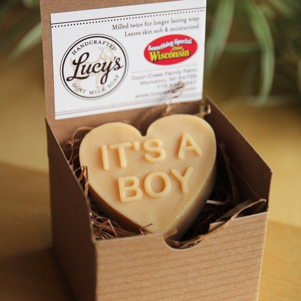 Lucy's Goat Milk Soap Lucy's Goat Milk Soap - It's A Boy