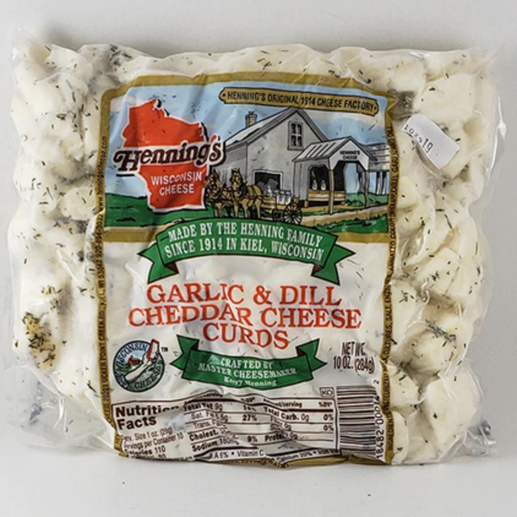 Wisconsin Cheese Curds Wisconsin Cheese Curds - Dill & Garlic (10 oz)