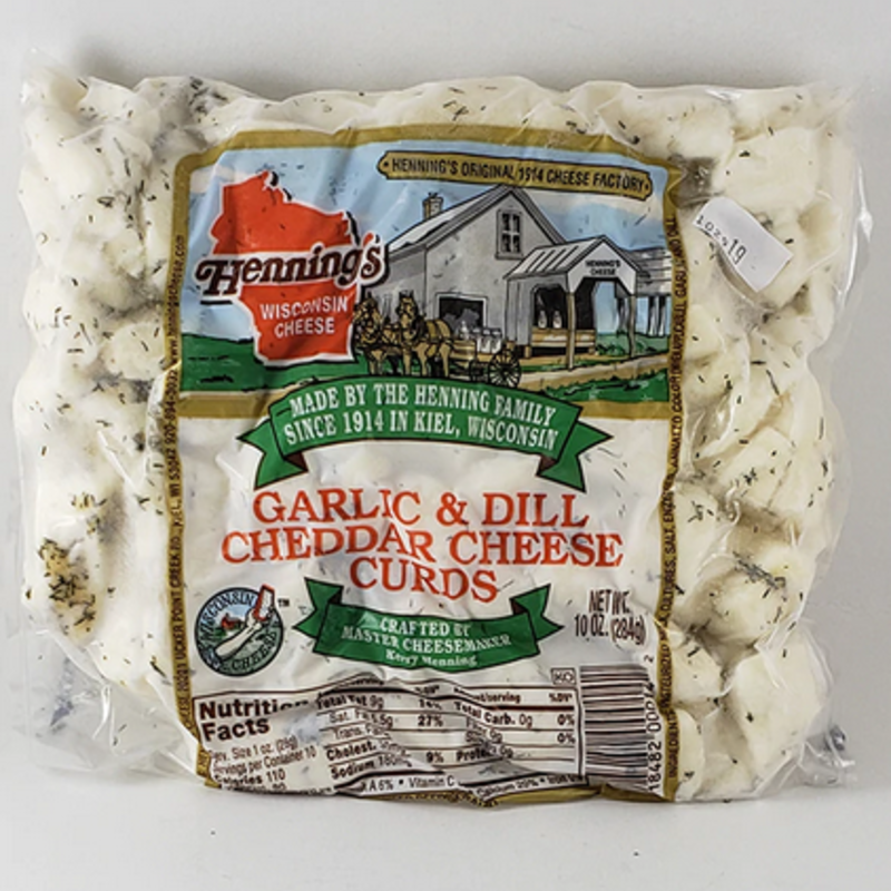 Wisconsin Cheese Curds Wisconsin Cheese Curds - Dill & Garlic (10 oz)