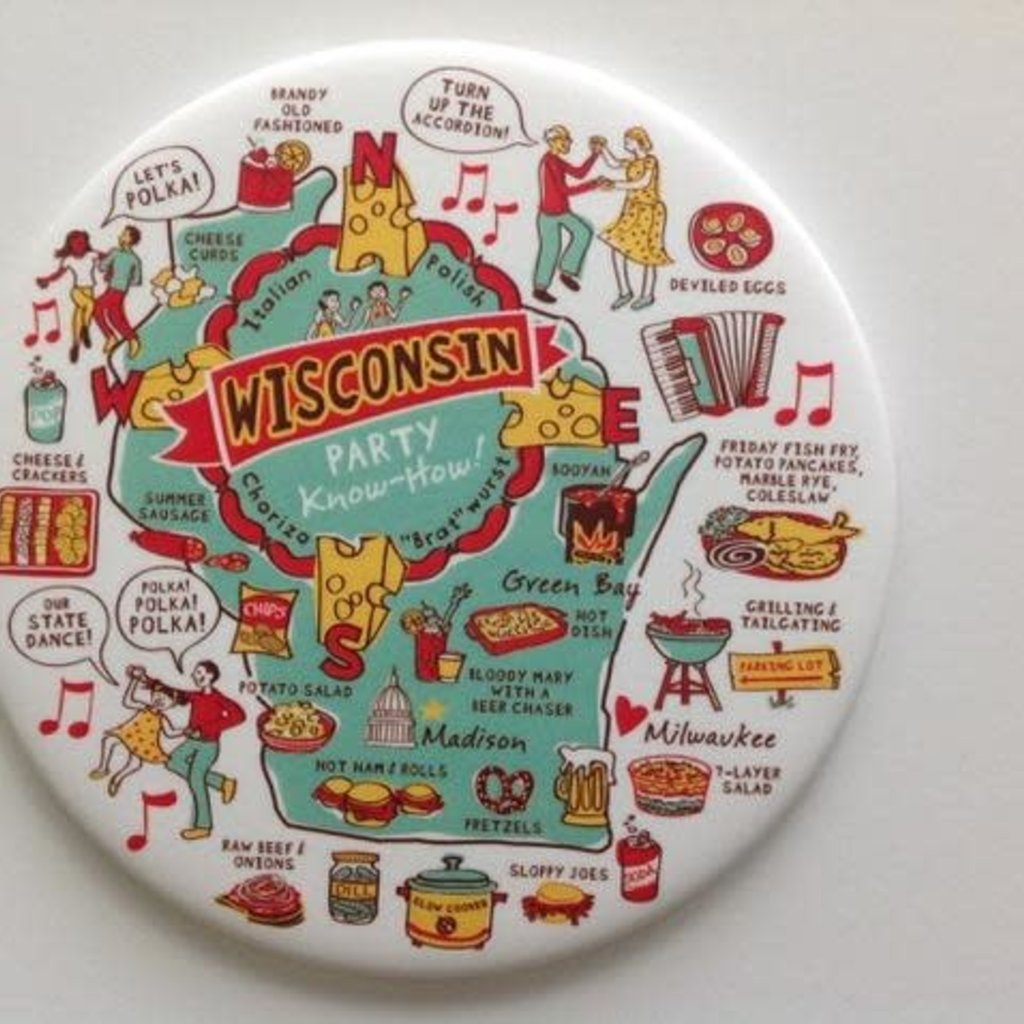 HANmade Milwaukee Magnet - Wisconsin Party Know How