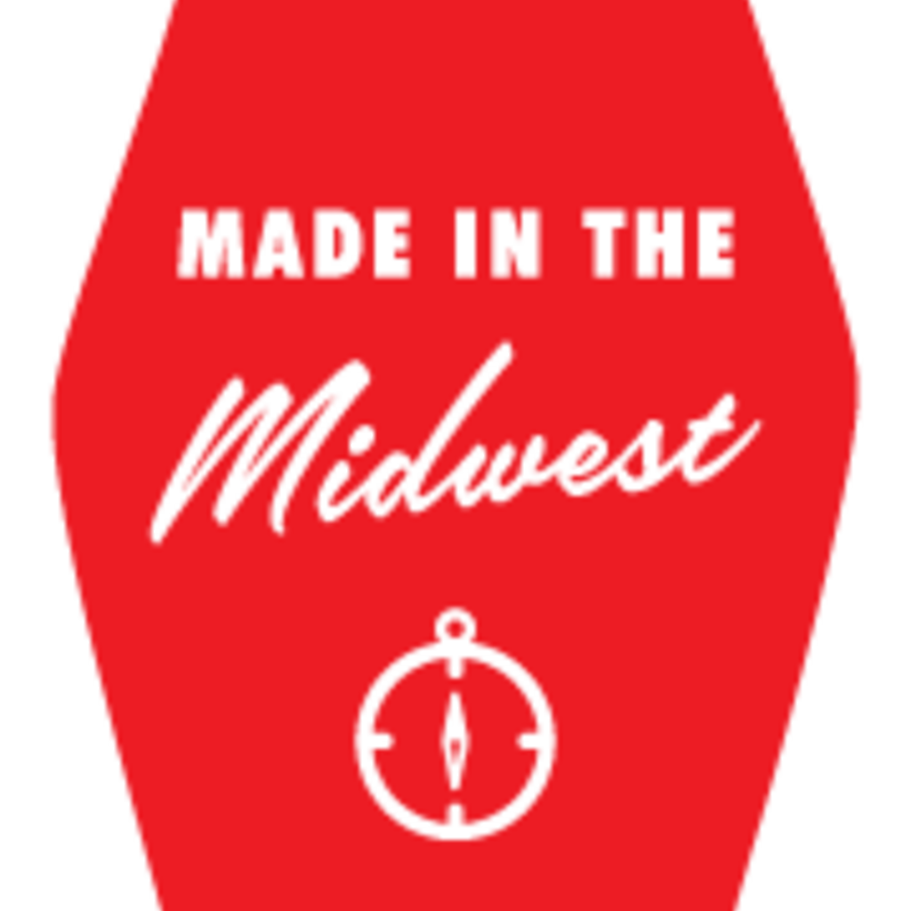 Volume One Key Tag - Made in the Midwest (Red)