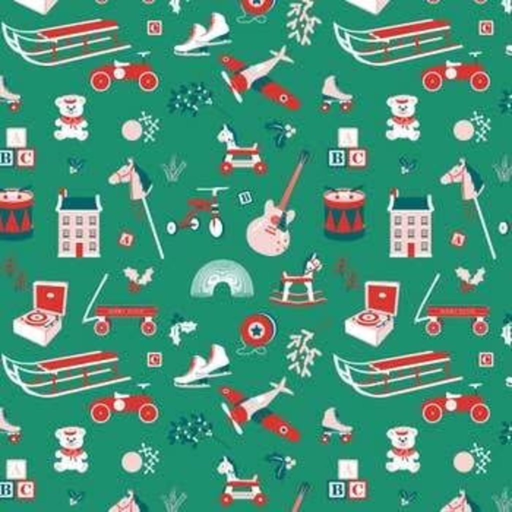 Volume One Wrapping Paper - Toys