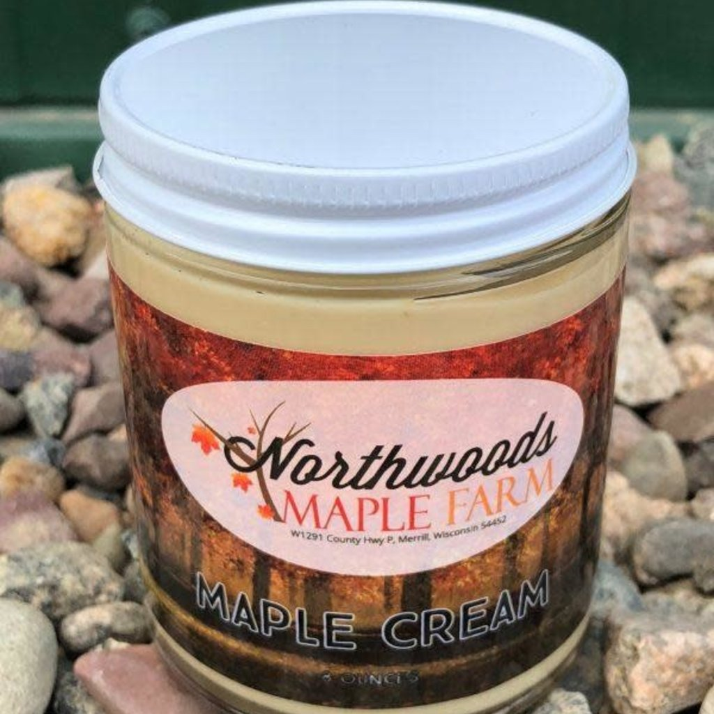 Northwoods Maple Farm Maple Cream (8 oz.)