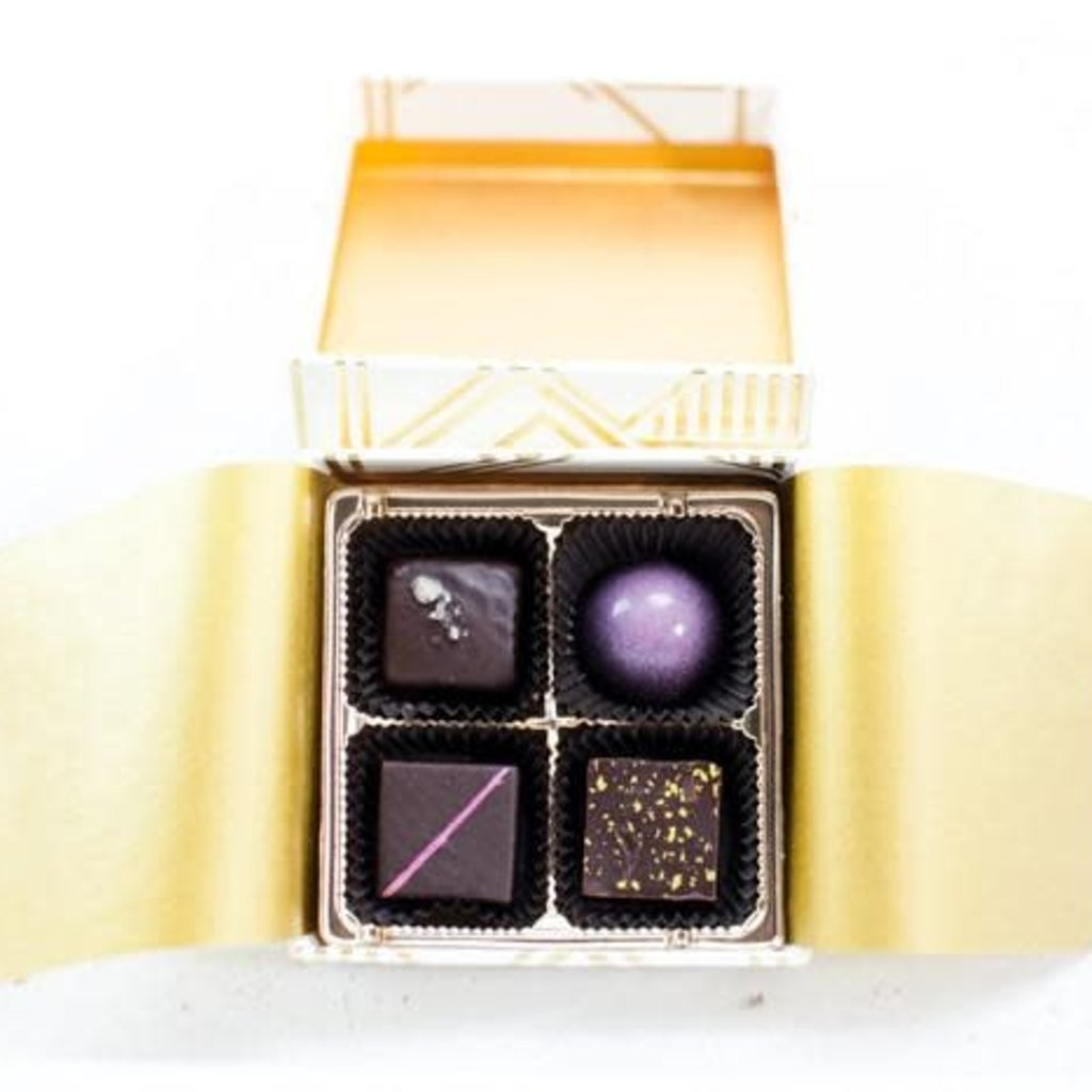 Mayana Chocolate Chocolate 4-Piece Signature Box