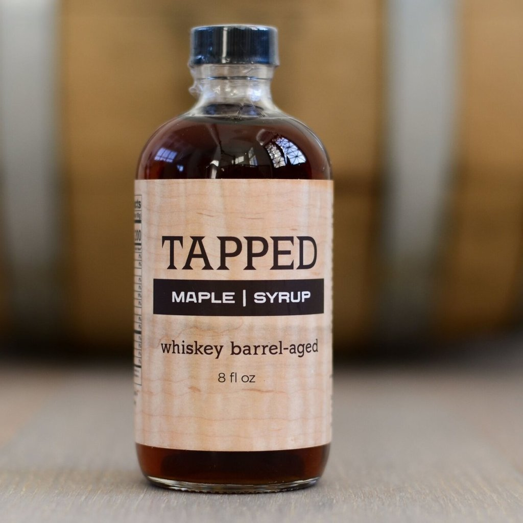 Tapped Maple Syrup Infused Maple Syrup - Whiskey Barrel-Aged