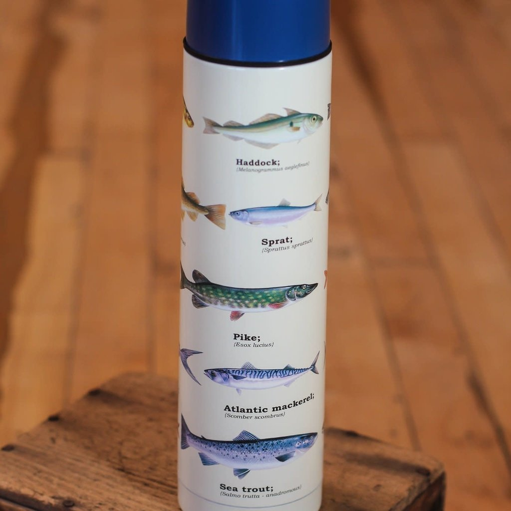 Gift Republic Thermos Flask - Fish