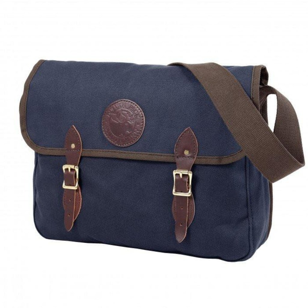 Duluth Pack Book Bag-Navy