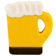 Vern's Cheese Beer Shaped Waxed Cheddar Cheese (4oz)