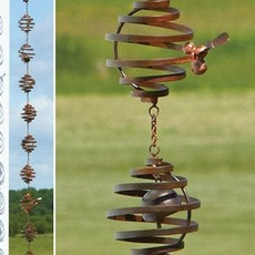 Volume One Rain Chain - Bee Spiral