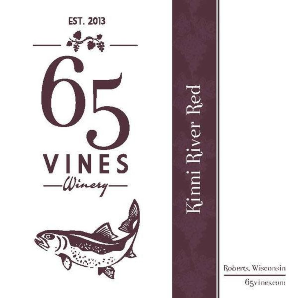 65 Vines Winery 65 Vines Wine - Kinni River RED