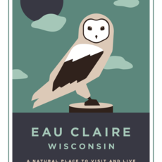 Volume One Eau Claire Animal Series Print - Owl