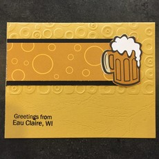 Cari Raynae Beer Greeting Card
