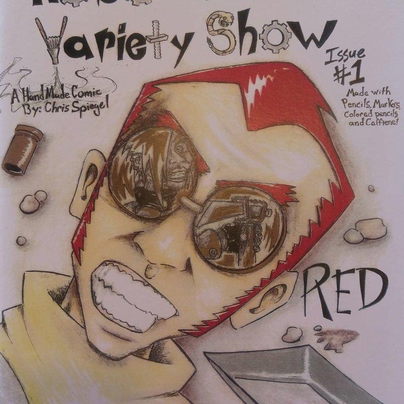 Chris Spiegel Robo-Western Variety Show no. 1