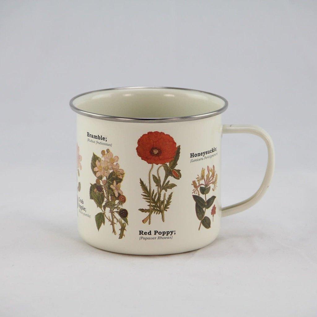 Gift Republic Enamel Mug - Wild Flowers