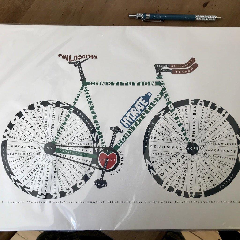 Spiritual Bicycle Print