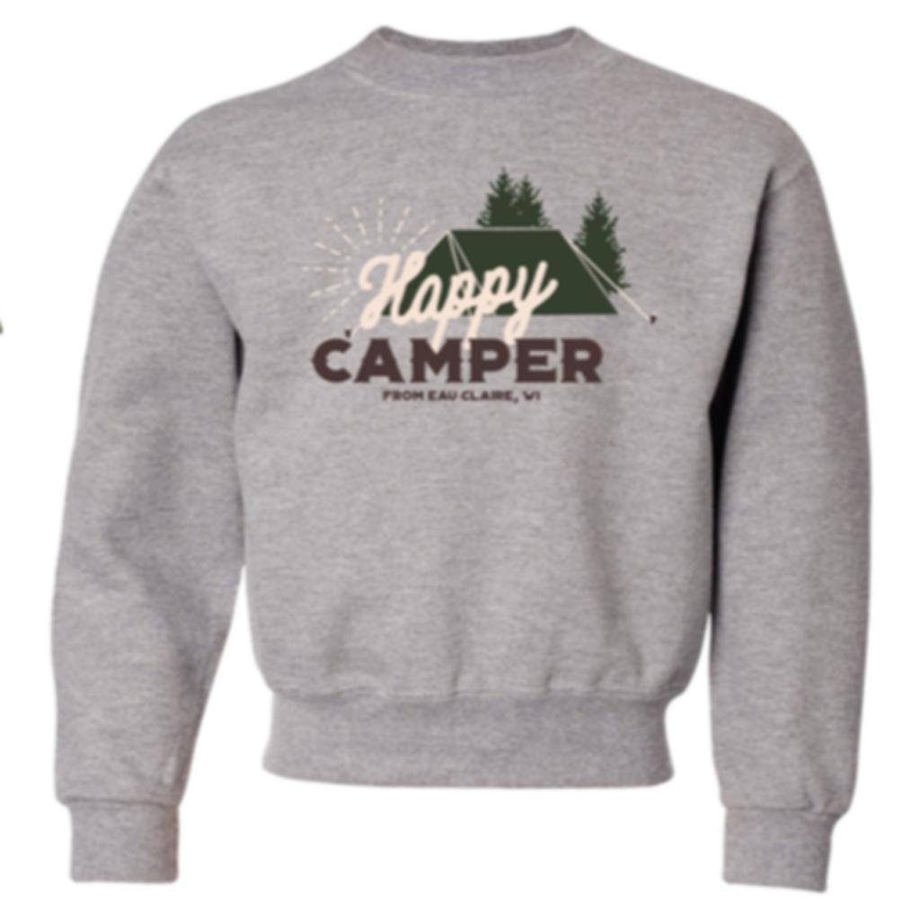 Volume One Youth Crewneck - Happy Camper