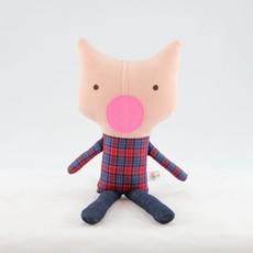Kiki b Omi Designs Up-Cycled Friend - Pig