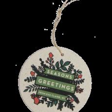 Volume One Ornament - Seasons Greeting