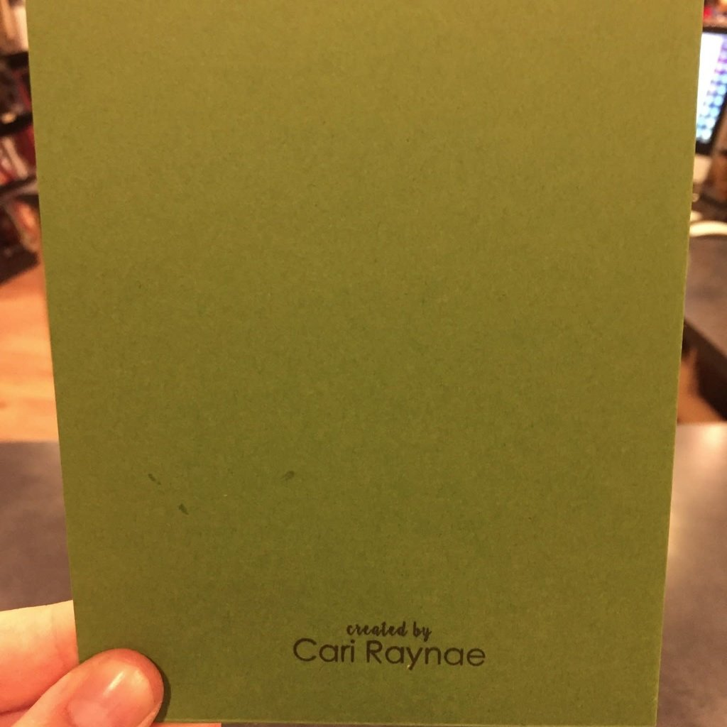 Cari Raynae Adventure Greeting Card